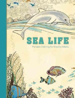 Sea Life: Portable Coloring for Creative Adults (Hardcover)