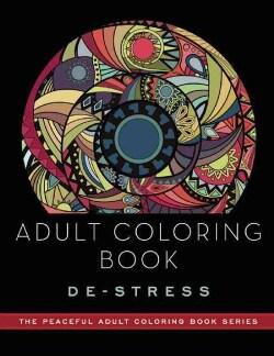 De-stress Adult Coloring Book (Paperback)