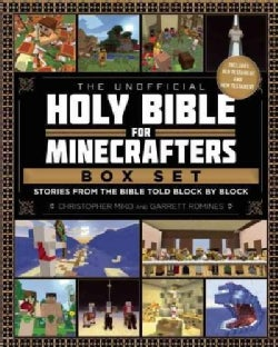 The Unofficial Holy Bible for Minecrafters Box Set: Stories from the Bible Told Block by Block (Hardcover)