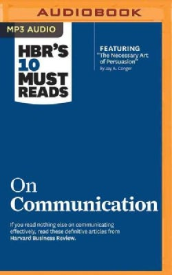 HBR's 10 Must Reads on Communication (CD-Audio)