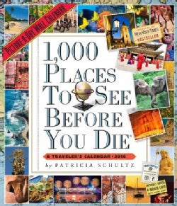 1,000 Places to See Before You Die Picture-a-day 2018 Calendar (Calendar)
