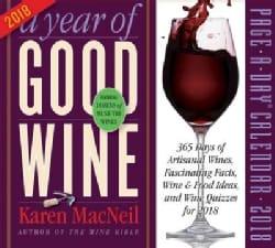 A Year of Good Wine 2018 Calendar (Calendar)