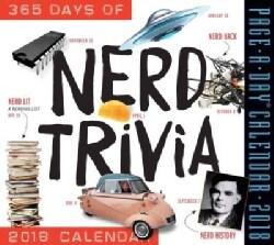 A Year of Nerd Trivia Page-a-day Calendar 2018 (Calendar)