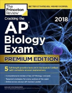 The Princeton Review Cracking the AP Biology Exam 2018 (Paperback)