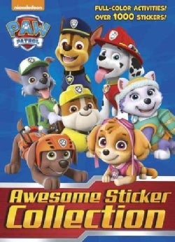 Paw Patrol Awesome Sticker Collection (Paperback)