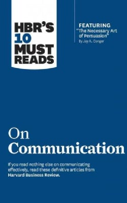 HBR's 10 Must Reads on Communication: Includes 1 Bonus Disc (CD-Audio)