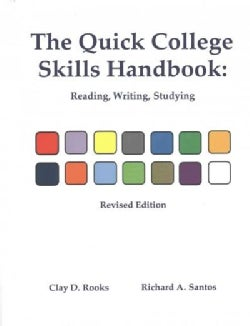 The Quick College Skills Handbook: Reading, Writing, Studying (Paperback)
