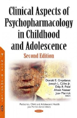 Clinical Aspects of Psychopharmacology in Childhood and Adolescence (Hardcover)