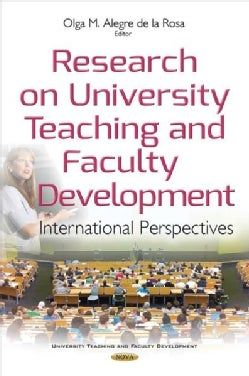 Research on University Teaching and Faculty Development: International Perspectives (Hardcover)