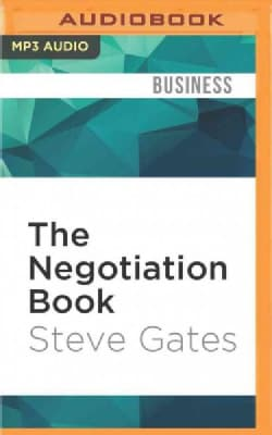 The Negotiation Book: Your Definitive Guide to Successful Negotiating (CD-Audio)