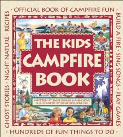 The Kids Campfire Book: Official Book of Campfire Fun (Paperback)