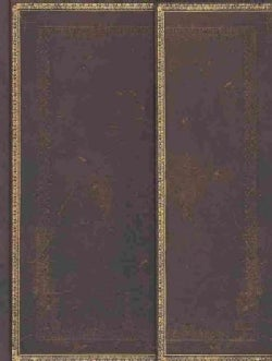 Black Moroccan Ultra Lined Journal (Notebook / blank book)