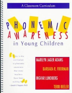 Phonemic Awareness in Young Children: A Classroom Curriculum (Paperback)