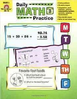 Daily Math Practice, Grade 3 (Paperback)