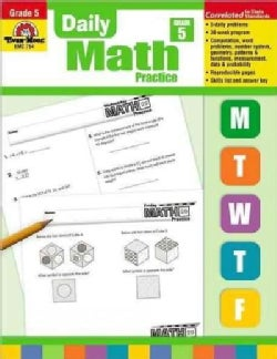 Daily Math Practice, Grade 5 (Paperback)