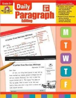 Daily Paragraph Editing, Grade 6 (Paperback)