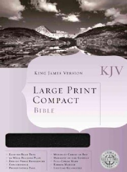 The Holman Compact Bible: King James Version, Burgundy Bonded Leather (Paperback)