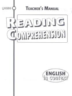 Reading Comprehension (Paperback)