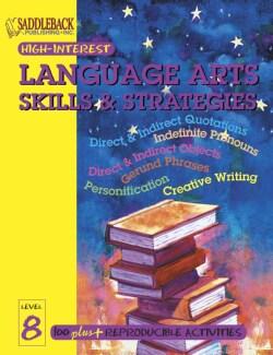 English Language Arts Skills & Strategies Level 8 (Paperback)
