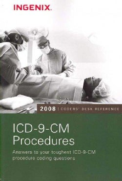 Coder's Desk Reference for ICD-9-CM Procedures 2008 (Paperback)