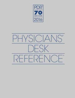 Physicians' Desk Reference 2016 (Hardcover)