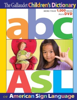 The Gallaudet Children's Dictionary of American Sign Language (Hardcover)