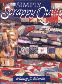 Simply Scrappy Quilts (Paperback)