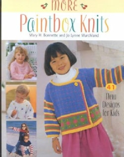 More Paintbox Knits: 41 New Designs for Kids (Paperback)