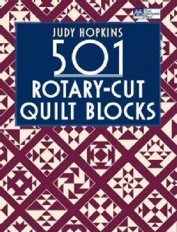 501 Rotary-Cut Quilt Blocks (Paperback)