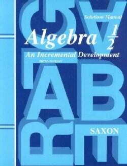 Algebra 1/2 (Paperback)
