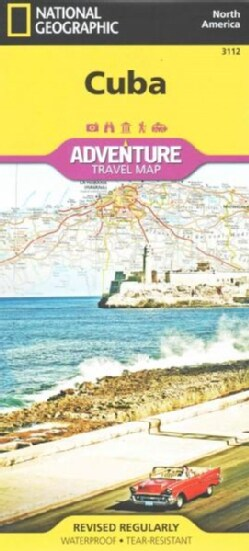 National Geographic Adventure Map Cuba North America (Sheet map, folded)