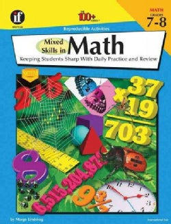 Mixed Skills in Math Grade 7-8: Keeping Students Sharp With Daily Practice and Review (Paperback)