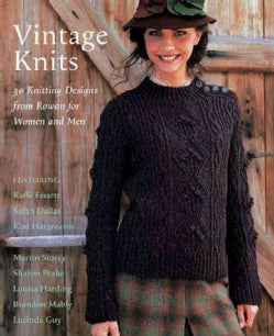 Vintage Knits: 30 Knitting Designs from Rowan for Women and Men (Paperback)
