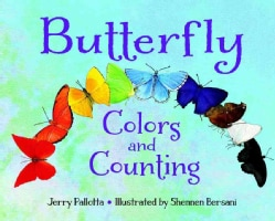 Butterfly Colors and Counting (Board book)