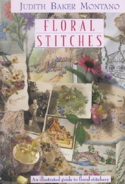 Floral Stitches: An Illustrated Guide to Floral Stitchery (Spiral bound)