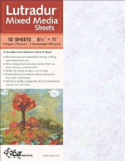 Lutradur Mixed Media Sheets (Paperback)