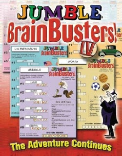 Jumble Brainbusters IV: The Adventure Continues (Paperback)