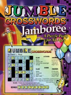 Jumble Crossword Jamboree: A Puzzle Party For All Ages (Paperback)