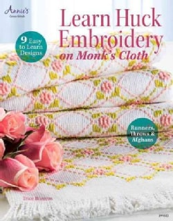 Learn Huck Embroidery on Monk's Cloth (Paperback)