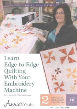 Learn Edge-to-Edge Quilting With Your Embroidery Machine: 2 Exclusive Sewing Projects Included As Part of the Class, Pattern ...