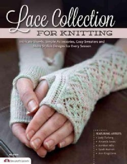 Lace Collection for Knitting: Intricate Shawls, Simple Accessories, Cozy Sweaters and More Stylish Designs for Ev... (Paperback)