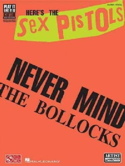 The Sex Pistols: Never Mind the Bollocks, Guitar-vocal (Paperback)