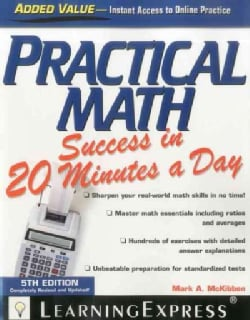 Practical Math Success in 20 Minutes a Day (Paperback)