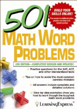 501 Math Word Problems (Paperback)