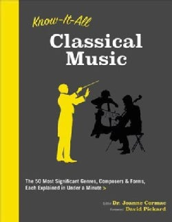 Know It All Classical Music: The 50 Most Significant Genres, Composers & Forms, Each Explained in Under a Minute (Paperback)