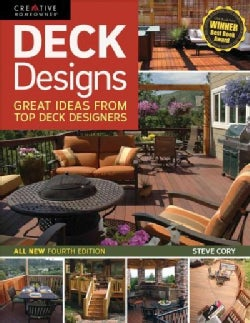 Deck Designs: Great Ideas from Top Deck Designers (Paperback)