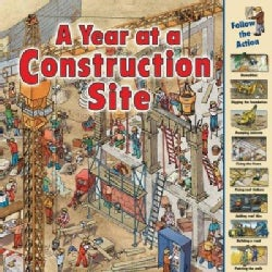 A Year at a Construction Site (Paperback)