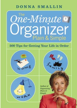 The One-Minute Organizer Plain & Simple (Paperback)