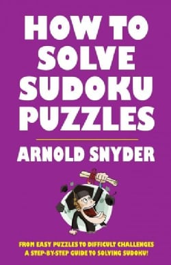 How to Solve Sudoku Puzzles (Paperback)