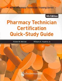 Pharmacy Technician Certification Quick-Study Guide (Paperback)